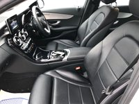 USED 2017 17 MERCEDES-BENZ C-CLASS 2.1 C220 D SPORT 4d 170 BHP HEATED LEATHER, SAT NAV + MORE