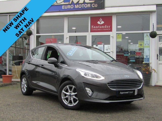 USED 2017 67 FORD FIESTA 1.0 ZETEC 5d 99 BHP Finished in SPECIAL MAGNETIC GREY PEARL with contrasting GREY Cloth interior trim. This Fiesta is a small family 5 door car that you can really enjoy driving. Economical and cheap to run, stylish to look at and some great features. Specification includes, Sat Nav,  B/Tooth, Alloys, Air Con and much more, makes this a must for the first time driver or small family. Dealer Serviced at 15789 miles and at 24892 miles. MOT is due 6/11/2021.