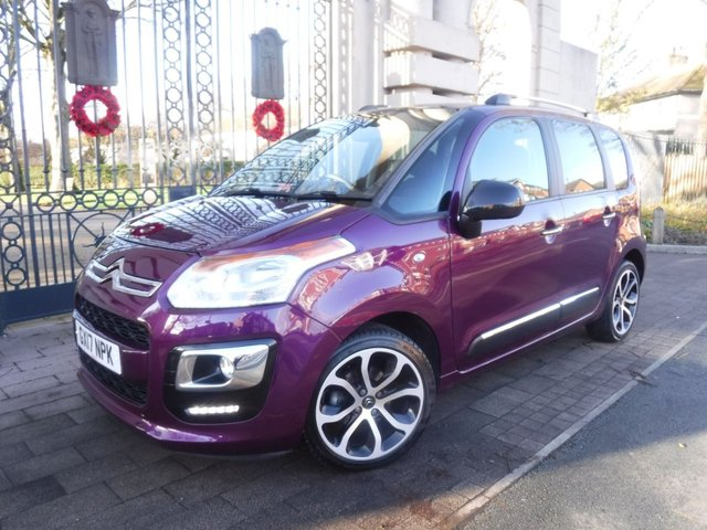 USED 2017 17 CITROEN C3 PICASSO 1.6 BLUEHDI PLATINUM PICASSO 5d 98 BHP FINANCE ARRANGED**PART EXCHANGE WELCOME**1 OWNER*PANORAMIC ROOF*CRUISE*BLUETOOTH*FULL CITROEN SERVICE HISTORY*PARKING SENSORS*PARK ASSIST