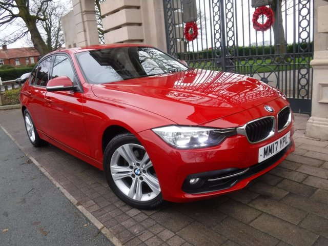 USED 2017 17 BMW 3 SERIES 2.0 320I SPORT 4d 181 BHP FINANCE ARRANGED**PART EXCHANGE WELCOME**1OWNER*CRUISE*NAV*FULL LEATHER*FULL SERVICE HISTORY*DAB*AUX*USB*AC
