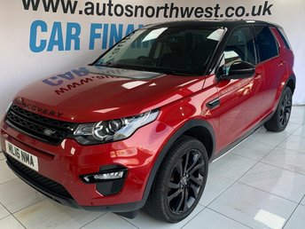 2016 LAND ROVER DISCOVERY SPORT 2.0 TD4 HSE BLACK 5d 180 BHP £22000.00