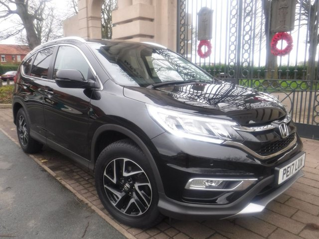 USED 2017 17 HONDA CR-V 2.0 I-VTEC SE PLUS 5d 153 BHP FULL HONDA SERVICE HISTORY* 1 OWNER FROM NEW* REVERSING CAMERA* FRONT AND REAR PARKING SENSORS*CRUISE CONTROL*