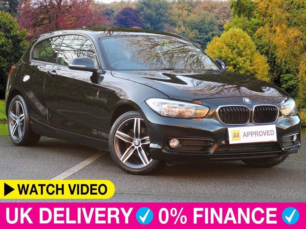 USED 2018 18 BMW 1 SERIES 116d Sport 3dr 1.5 Sat Nav Park Assist Sat Nav Park Assist Bluetooth