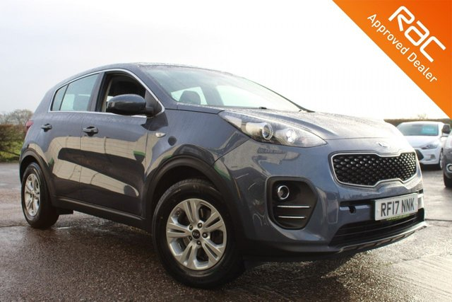 USED 2017 17 KIA SPORTAGE 1.7 CRDI 1 ISG 5d 114 BHP VIEW AND RESERVE ONLINE OR CALL 01527-853940 FOR MORE INFO.