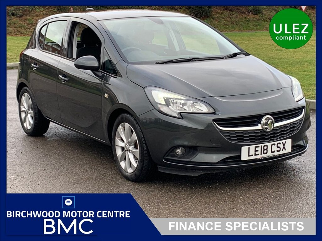 USED 2018 18 VAUXHALL CORSA 1.4 ENERGY 5d 89 BHP Corsa automatic, low mileage,heated seats