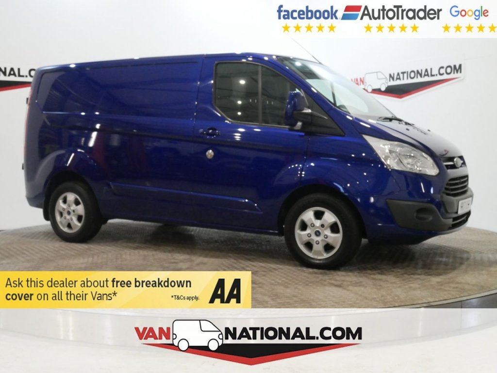 USED 2017 17 FORD TRANSIT CUSTOM 2.0 290 LIMITED130 BHP L1 H1 *EURO 6 * AIR CON* * ONE OWNER * EURO 6 * AIR CON * ZERO DEPOSIT FINANCE AVAILABLE *