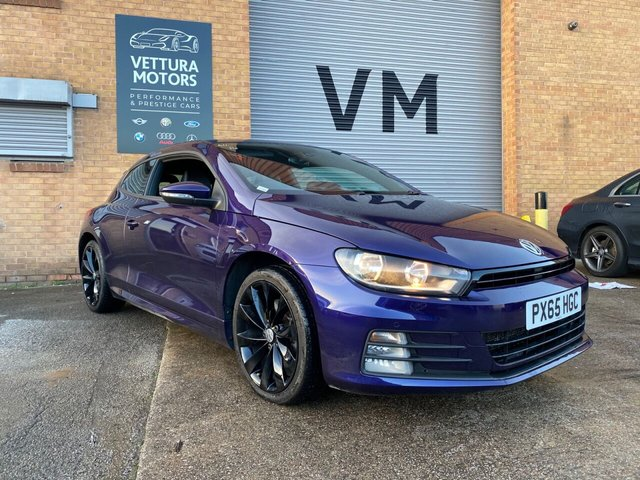USED 2015 65 VOLKSWAGEN SCIROCCO 2.0L R LINE TDI BLUEMOTION TECHNOLOGY 2d 182 BHP