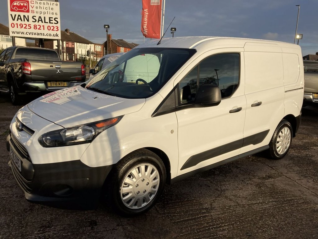 USED 2016 66 FORD TRANSIT CONNECT 1.5 220 L1 74 BHP 1 OWNER FSH 3 SEATER  NEW MOT AIR CON PDC FREE 6 MONTH WARRANTY INCLUDING RECOVERY AND ASSIST