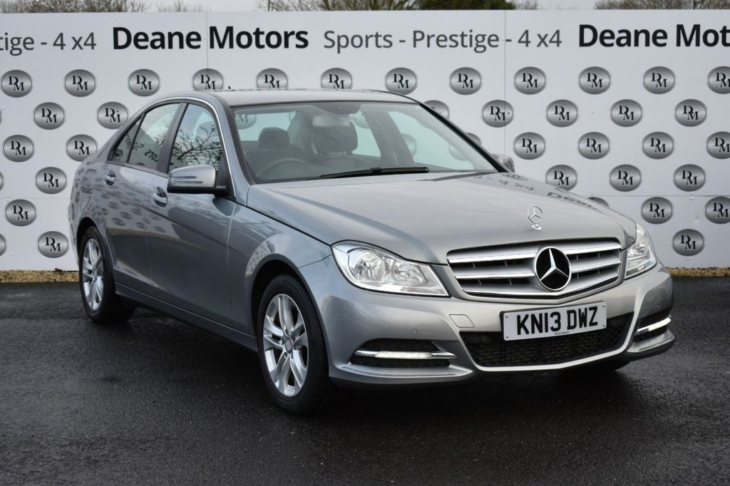 USED 2013 13 MERCEDES-BENZ C-CLASS 1.6 C180 BLUEEFFICIENCY EXECUTIVE SE 4d 154 BHP