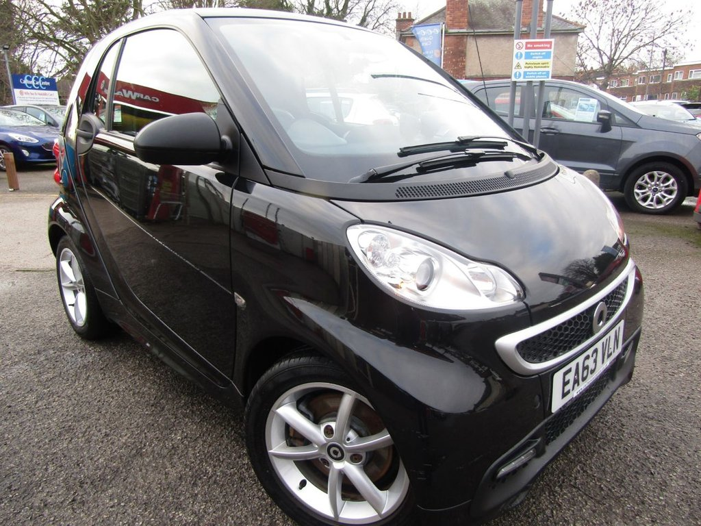 USED 2013 63 SMART FORTWO 1.0 EDITION 21 MHD 2d 71 BHP
