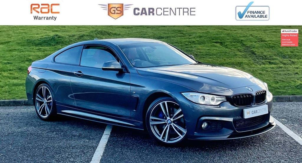 USED 2016 66 BMW 4 SERIES 2.0 420d M Sport Auto 2dr Red Leather| HarmonKardon| Kit