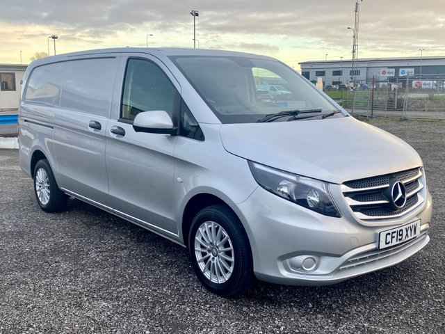 2019 19 MERCEDES-BENZ VITO 2.1 114 BLUETEC 136 BHP