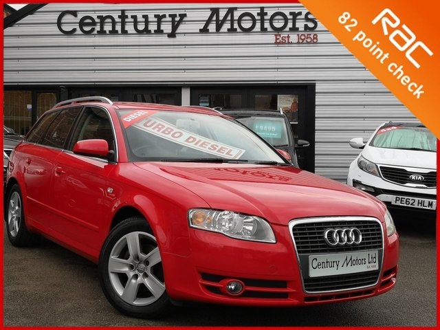 2005 54 AUDI A4 AVANT 2.0 TDI SE 140 5dr - VERY CLEAN EXAMPLE