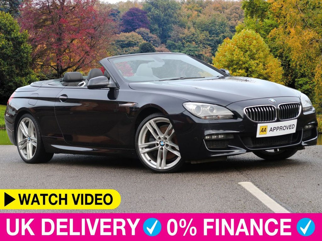 USED 2012 12 BMW 6 SERIES 640d M Sport Auto 3.0 Convertible 2dr 20