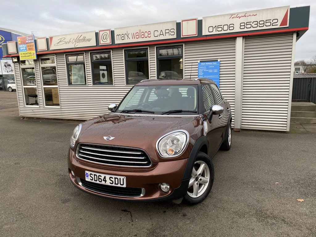 USED 2014 64 MINI COUNTRYMAN 1.6 ONE D 5d 90 BHP
