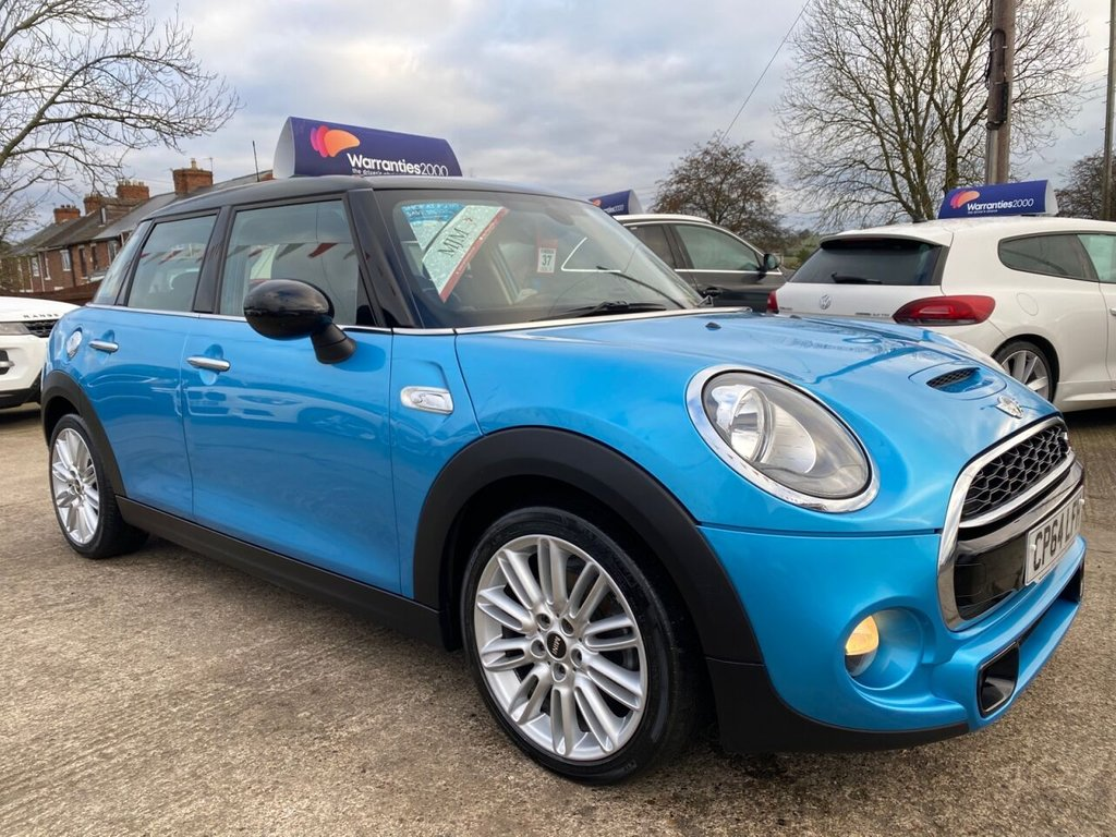 USED 2014 64 MINI HATCH COOPER 2.0 COOPER SD 5d 168 BHP * 1 OWNER * SAT NAV * CHILLI PACK * MEDIA XL * STUNNING THROUGHOUT *