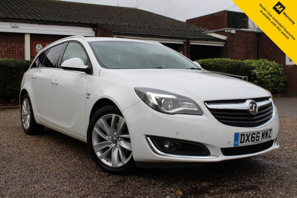 USED 2016 66 VAUXHALL INSIGNIA 2.0 SRI NAV CDTI ECOFLEX S/S 5d 167 BHP ** FULL VAUXHALL MAIN DEALER SERVICE HISTORY ** LONG ADVISORY FREE MOT ** UPGRADED FRONT + REAR PARKING AID ** SATELLITE NAVIGATION ** CRUISE CONTROL ** BLUETOOTH + USB ** AUTO LIGHTS ** DAB RADIO ** ULEZ CHARGE EXEMPT ** LOW RATE £0 DEPOSIT FINANCE AVAILABLE ** CLICK & COLLECT + NATIONWIDE DELIVERY OPTIONS AVAILABLE **