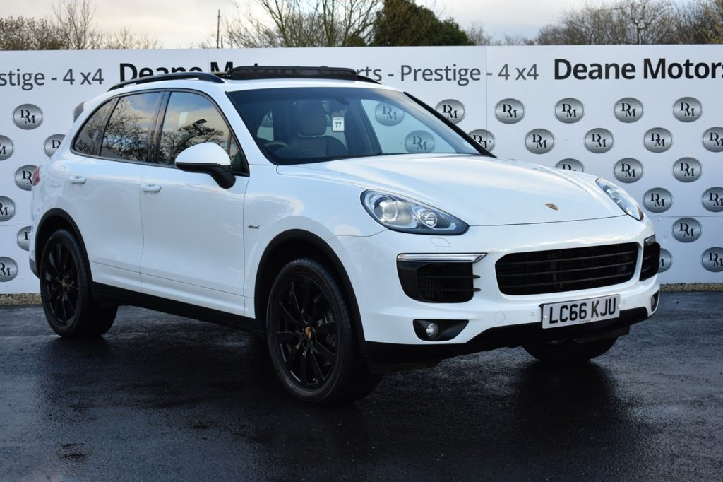 USED 2016 66 PORSCHE CAYENNE 3.0 D V6 TIPTRONIC S 5d 262 BHP LOW MILEAGE PANROOF