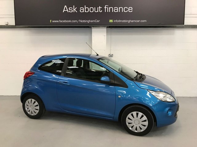 USED 2013 62 FORD KA 1.2 EDGE 3d 69 BHP