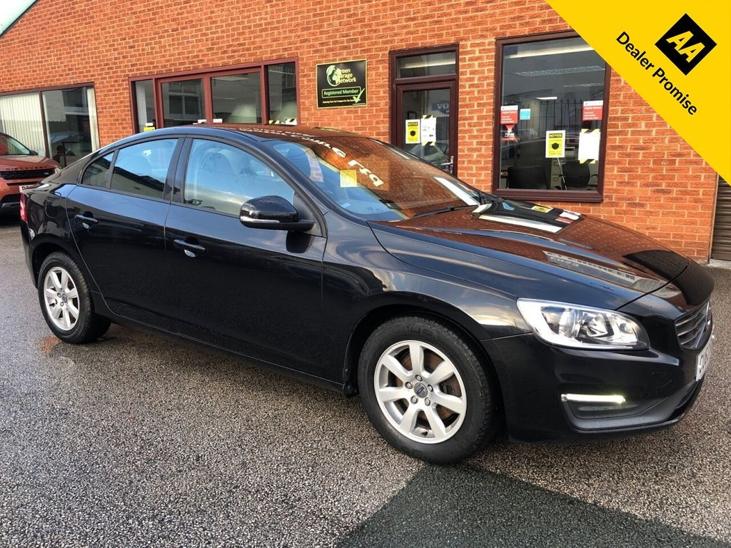 USED 2013 63 VOLVO S60 1.6 D2 BUSINESS EDITION 4d 113 BHP Only £20 a year road tax : Full Volvo service history  :  Bluetooth  :  Sat Nav  :  DAB Radio  :  T-Tec/Cloth upholstery  :  Isofix fittings  :  Volvo City Safety system  :  Rear parking sensors
