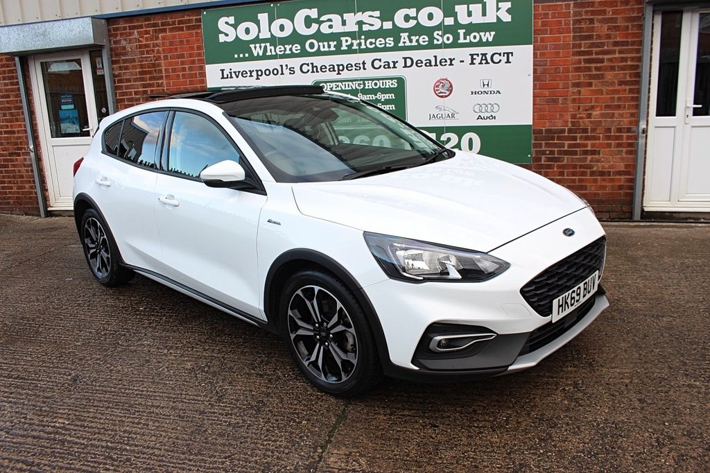 USED 2019 69 FORD FOCUS 1.0 ACTIVE X 5d 124 BHP +PANORAMIC ROOF +CARPLAY +SAT NAV