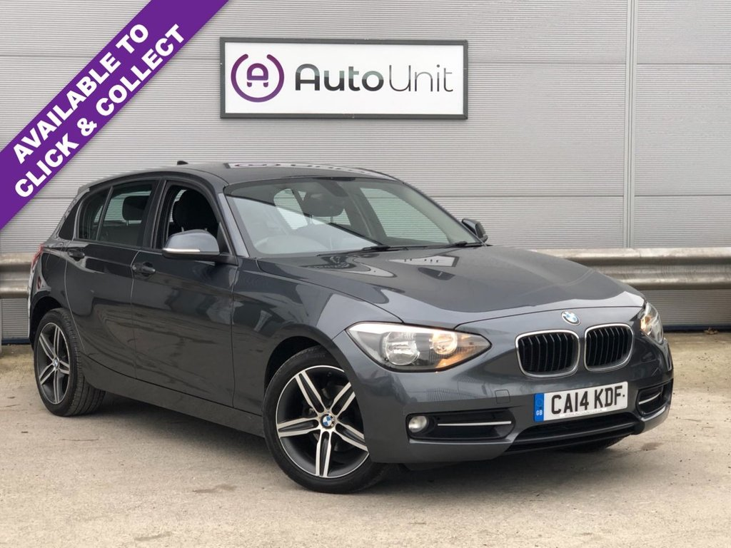 USED 2014 14 BMW 1 SERIES 1.6 116I SPORT 5d 135 BHP FULL BMW HISTORY + BT + SENSORS
