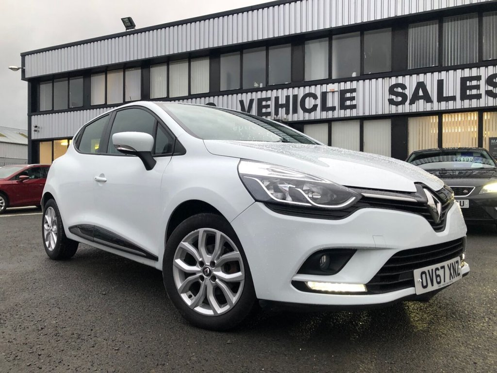 USED 2017 67 RENAULT CLIO 0.9 DYNAMIQUE NAV TCE 5d 89 BHP £163 a month, T&Cs apply.