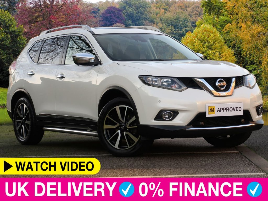 USED 2015 15 NISSAN X-TRAIL 1.6 dCi N-Tec 5dr Glass Roof Nav Park Cam Glass Roof Sat Nav Park Cam
