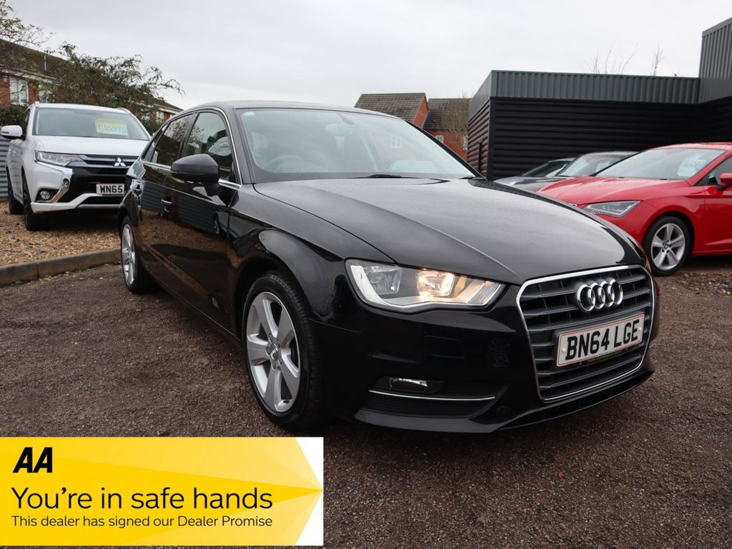 USED 2014 64 AUDI A3 1.4 TFSI SPORT 5d 148 BHP ABSOLUTLEY STUNNING WITH VERY LOW MILEAGE