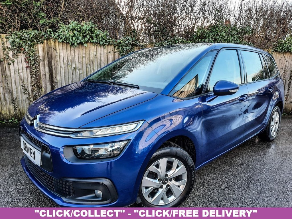 USED 2017 17 CITROEN C4 GRAND PICASSO 1.6 BLUEHDI TOUCH EDITION S/S 5d 98 BHP