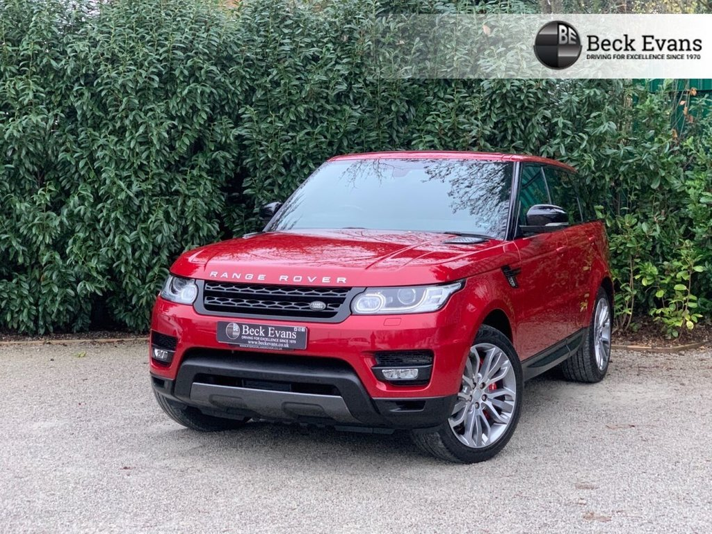 USED 2015 65 LAND ROVER RANGE ROVER SPORT 3.0 SDV6 HSE DYNAMIC 5d 306 BHP LOW MILEAGE