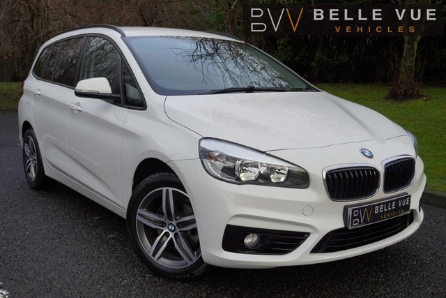 USED 2018 18 BMW 2 SERIES 1.5 216D SPORT GRAN TOURER 5d 114 BHP - FREE DELIVERY* *EXTREMELY LOW MILES! 7 SEATS, ALPINE WHITE, MUST SEE*