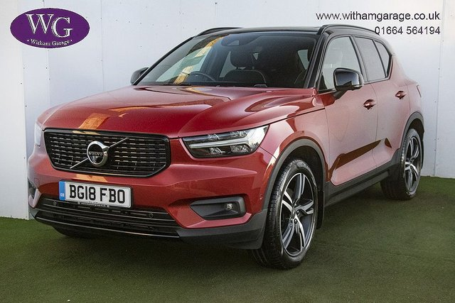 USED 2018 18 VOLVO XC40 2.0 D4 FIRST EDITION AWD 5d 188 BHP