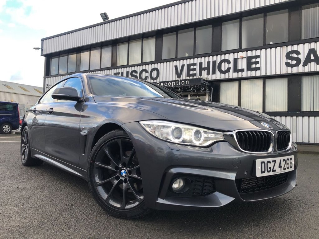 USED 2016 BMW 4 SERIES 2.0 420D M SPORT GRAN COUPE 4d 188 BHP £327 a month, T&Cs apply.