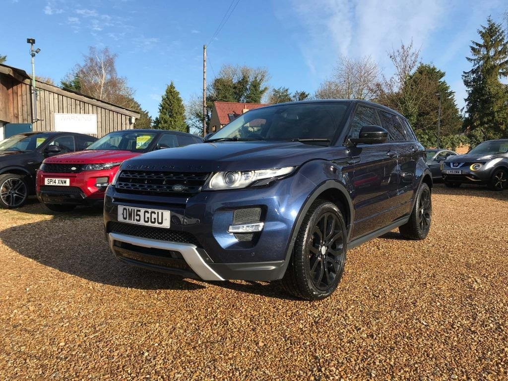 USED 2015 15 LAND ROVER RANGE ROVER EVOQUE 2.2 SD4 Dynamic Lux AWD 5dr Lux Pack, T.V, Camera's, Nav