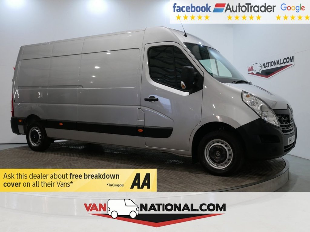 USED 2019 19 RENAULT MASTER 2.3 LWB LM35DCI 130PS BUSINESS MEDIUM ROOF L3 H2 *EURO 6* * EURO 6 * LWB * REAR SENSORS * ZERO DEPOSIT FINANCE AVAILABLE *