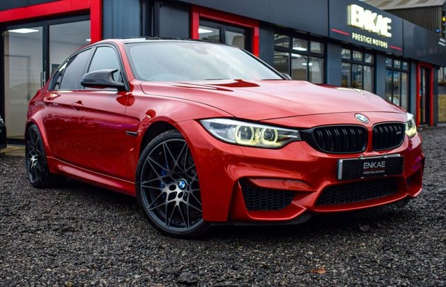 2017 17 BMW M3 3.0 M3 COMPETITION PACKAGE 4d 444 BHP