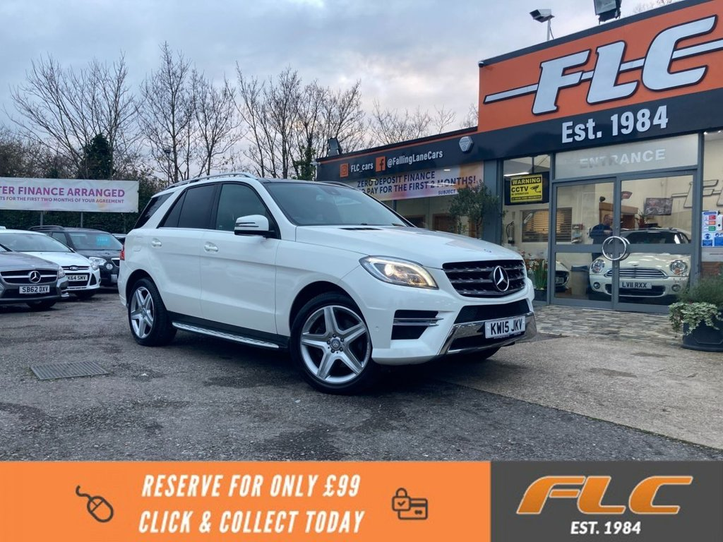 USED 2015 15 MERCEDES-BENZ M-CLASS 2.1 ML250 BLUETEC AMG LINE PREMIUM 5d 201 BHP