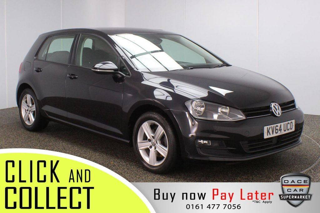 USED 2014 64 VOLKSWAGEN GOLF 1.4 MATCH TSI BLUEMOTION TECHNOLOGY 5DR 120 BHP FULL SERVICE HISTORY + PARKING SENSOR + BLUETOOTH + CRUISE CONTROL + MULTI FUNCTION WHEEL + AIR CONDITIONING + DAB RADIO + SD PORT + ELECTRIC WINDOWS + ELECTRIC/HEATED/FOLDING DOOR MIRRORS + 16 INCH ALLOY WHEELS