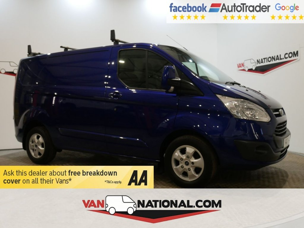 USED 2017 17 FORD TRANSIT CUSTOM 2.0 270 LIMITED LR P/V 130 BHP L1 H1 *EURO 6 * AIR CON * * ONE OWNER * EURO 6 * AIR CON * ZERO DEPOSIT FINANCE AVAILABLE *