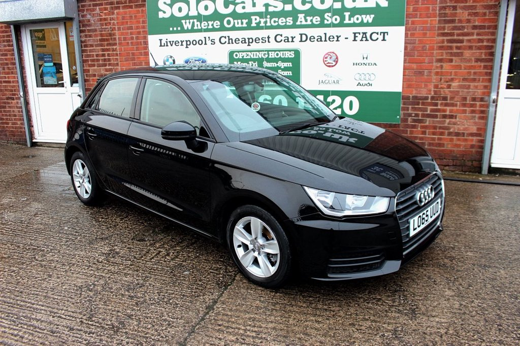 USED 2015 65 AUDI A1 1.6 SPORTBACK TDI SE 5d 114 BHP +AUTO LIGHTS +SERVICED +DAB.