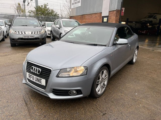 USED 2011 11 AUDI A3 CABRIOLET 2.0 Tdi S Line Cabriolet.