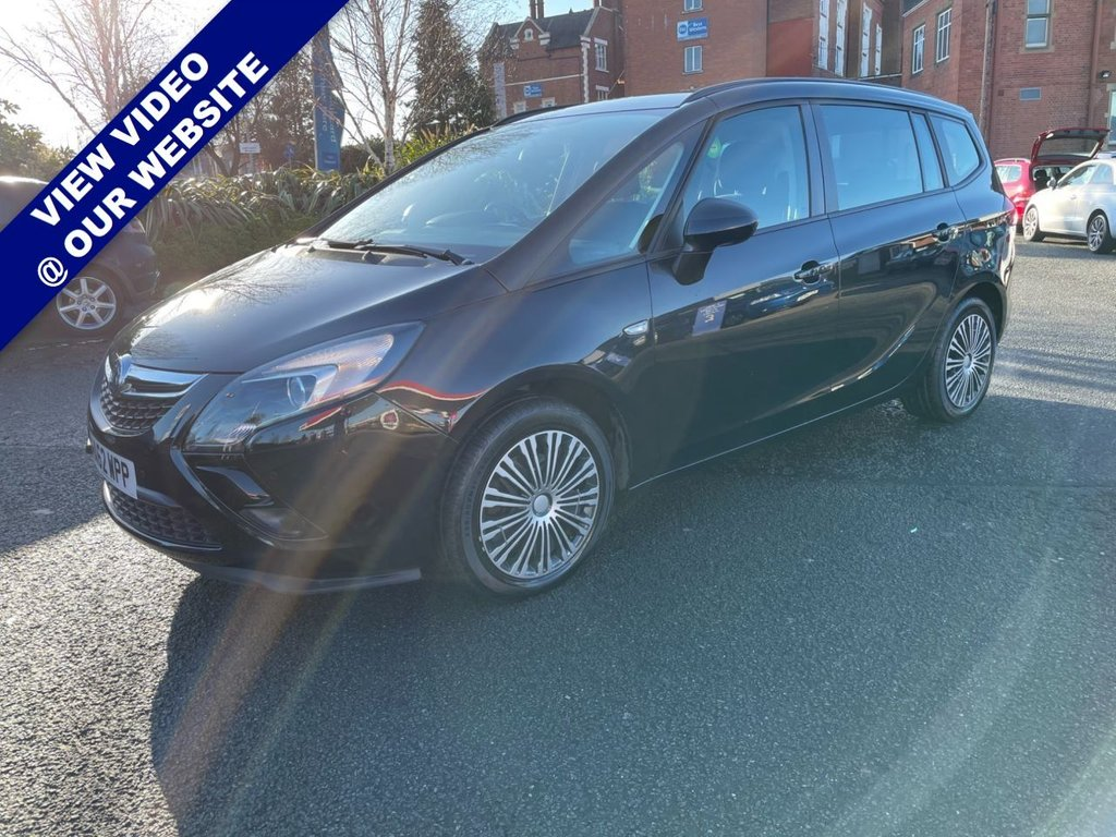USED 2012 62 VAUXHALL ZAFIRA TOURER 1.8 EXCLUSIV 5d 138 BHP