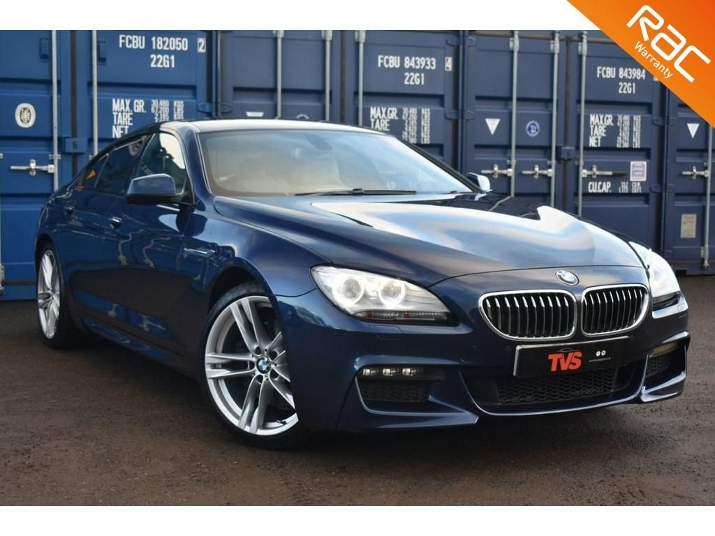 USED 2012 12 BMW 6 SERIES 3.0 640D M SPORT GRAN COUPE 4d 309 BHP
