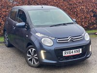 USED 2014 64 CITROEN C1 1.0 FEEL 5d FULL SERVICE HISTORY, 12 MONTHS MOT, BLUETOOTH, TOUCH SCREEN INTERFACE, AIR CONDITIONING