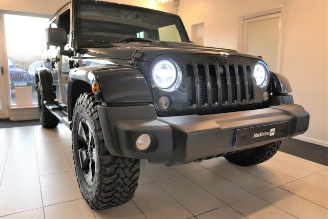 2015 65 JEEP WRANGLER 2.8 CRD BLACK EDITION II Unlimited. RESERVED FOR JOHN.