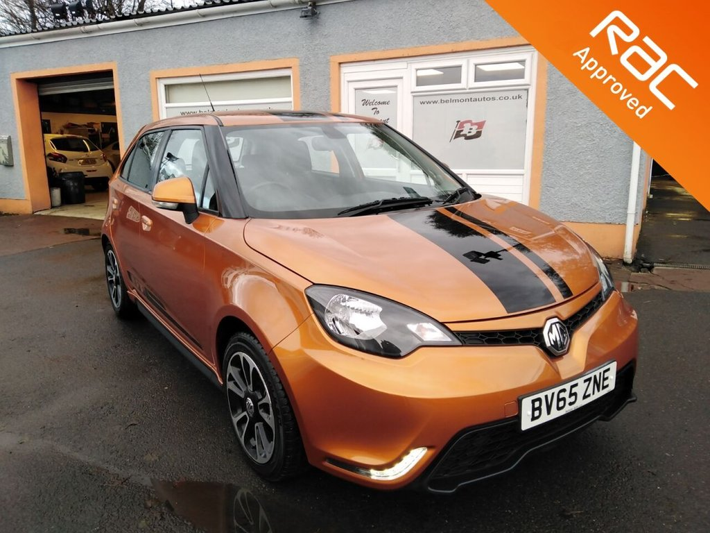 "USED 2015 65 MG 3 1.5 3 STYLE VTI-TECH 5d 106 BHP 16"" Alloys, Bluetooth, Cruise Control, Parking Sensors, CD Player"