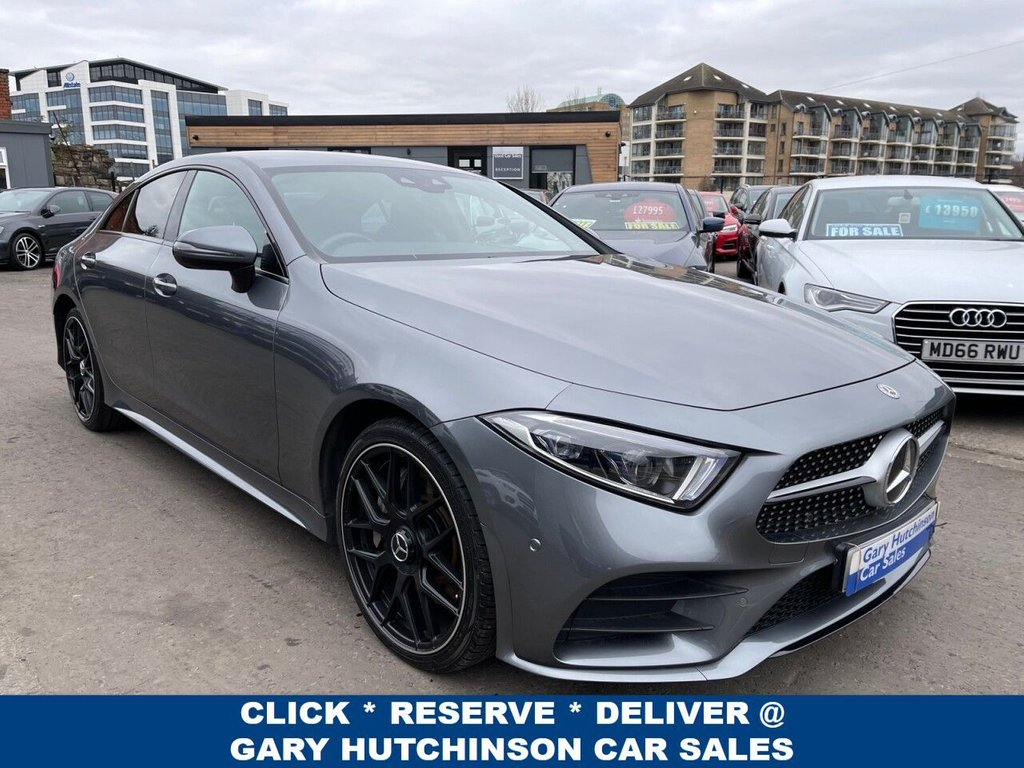 USED 2018 68 MERCEDES-BENZ CLS 350 D 4MATIC AUTO AMG NIGHT LINE STYLING