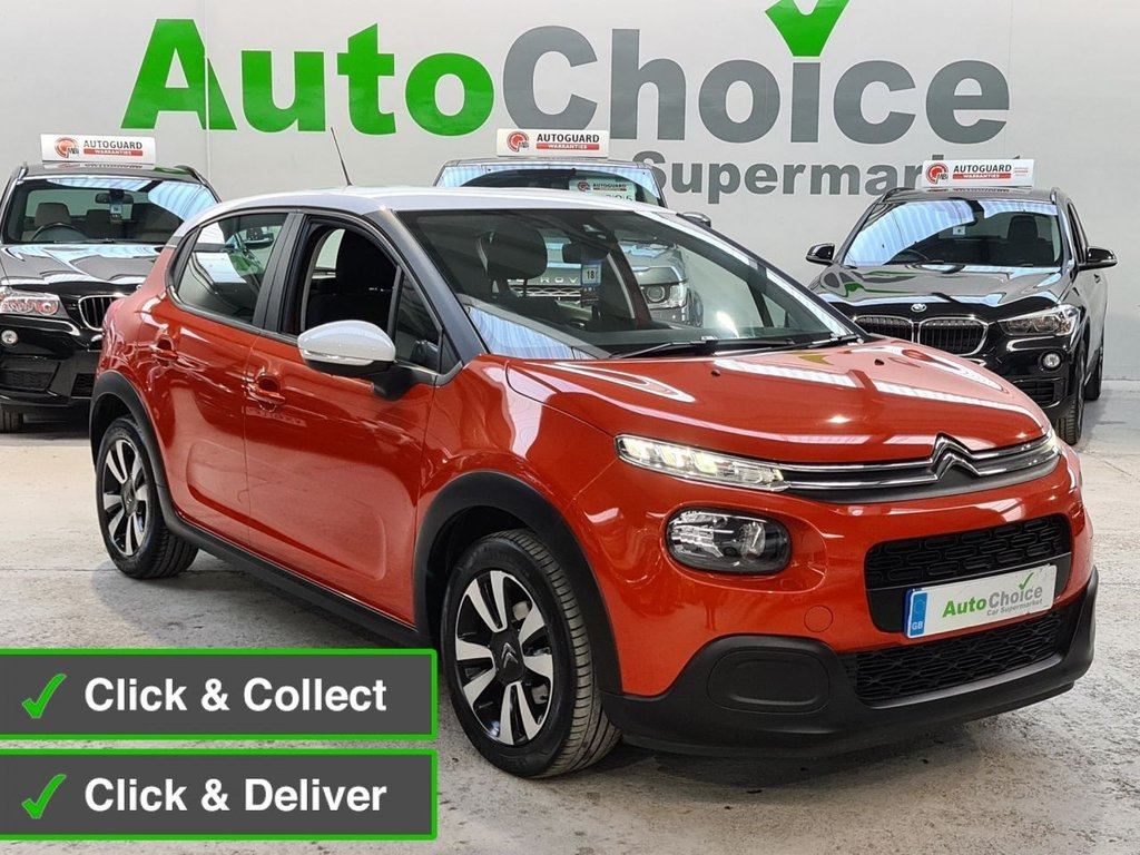 USED 2018 18 CITROEN C3 1.2 PURETECH FEEL 5d 81 BHP