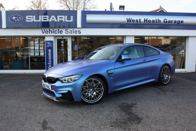 2017 17 BMW M4 3.0 M4 COMPETITION 2d 444 BHP